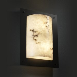 LumenAria Framed Two Light Wall Sconce Metal Finish: Polished Chrome
