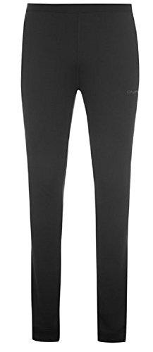 Campri Herren Thermo-Unterwäsche für den Sports, Base Layer, Langarmshirt & Hose im Set, schwarz