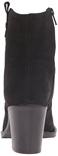 La Canadienne Womens Phinn Nubuck Fashion Boot Black Nubuck tv0PV