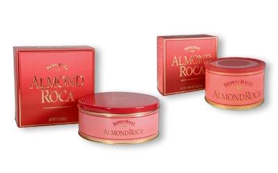 Brown & Haley Almond Roca Buttercrunch, 21-Ounce Tins (Pack of 2)