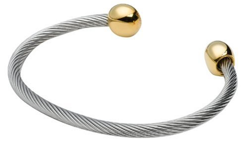 Sabona Professional Steel Twists - Duet Magnetic Wristband - X-Large by Sabona
