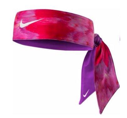 Nike Women's Dri-FIT Head Tie 3.0 Vivid Pink Nike Nylon Headband