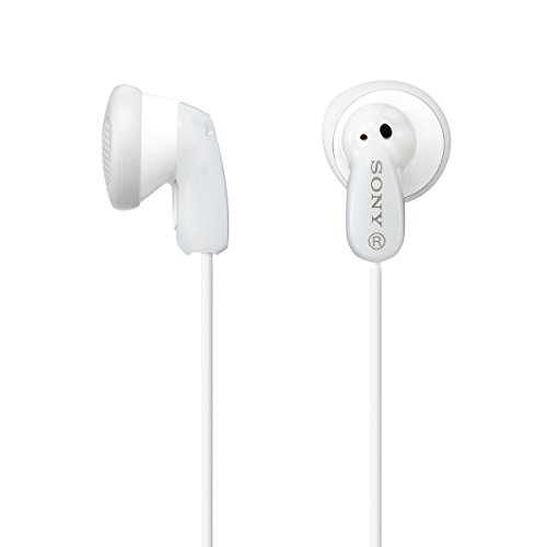 Sony MDRE9LP WHI Earbud Headphones product image