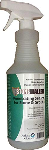 Surface Solutions STNW-32 Stonewalled Penetrating Sealer for Stone & Grout, 1 Quart