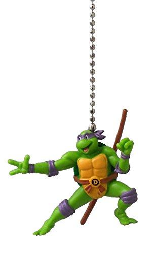 - Teenage Mutant Ninja Turtles Figure Ceiling FAN PULL light chain (DONATELLO - purple mask)