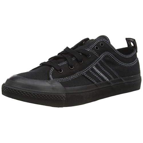 chollos oferta descuentos barato Diesel S astico Low Lace Zapatillas para Hombre Negro Black T8013 Pr012 45 EU