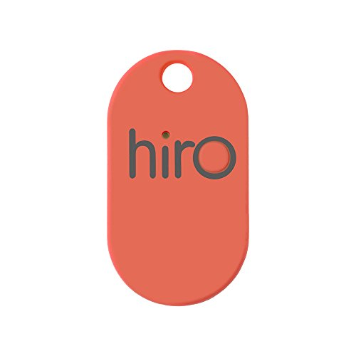 Hiro (v2.0) - The Bluetooth Key Finder (Red) by Hiro