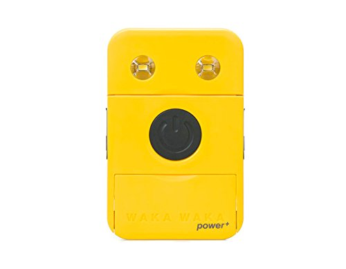 WakaWaka Power+ Solar-Powered Flashlight + Charger - 2200mAh, Yellow