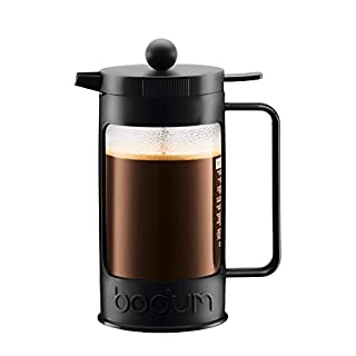 Bodum Bean 8 Cup French Press Coffee Maker, 34-Ounce, Black