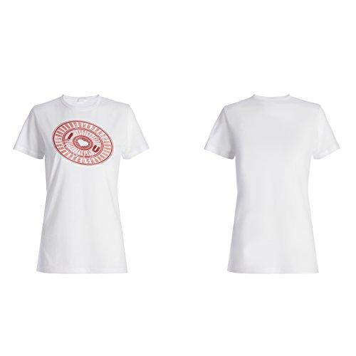 Ich liebe dich Herzform lustig mich Damen T-shirt f268f
