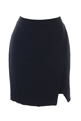 Ralph Lauren Stretch Wrap - Lauren Ralph Lauren Womens Crepe Faux Wrap Pencil Skirt Black 12