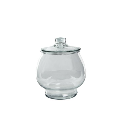 (Syndicate Sales 1/2 Gallon Footed Terrarium w/Lid, Clear)