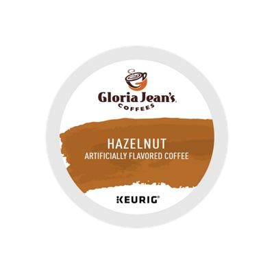 Gloria Jean's Coffees, Hazelnut Coffee, 24-Count K-Cup for Keurig Brewers