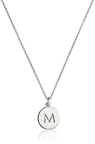 "Kate Spade New York ""M Pendant Necklace, 20"" + 3"" Extender"