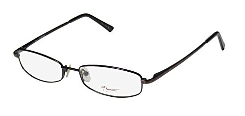Thalia Carina Womens/Ladies Prescription Ready Avant-garde Design Designer Full-rim Spring Hinges Eyeglasses/Spectacles (49-16-130, Black / Leopard - Nerd Leopard Print Glasses