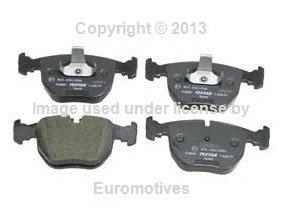 BMW e38 e39 (8cyl) Brake Pad Set Front CERAMIC Textar friction linings braking