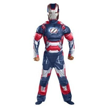 Iron Patriot Classic Muscle Costume - Large