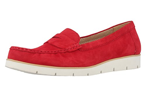 GaborPortland - mocasines mujer Rojo