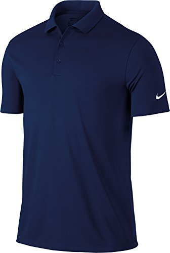 Nike Golf Victory Solid Mens Polo Shirt - 12 Colours / Sml-2X - College Navy - L