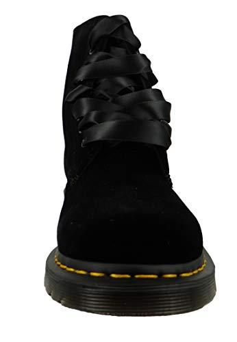 Adult's Pascal noir Martens Boots Unisex Noir 1460 Dr Velvet f4EqPRp
