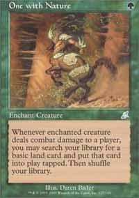 Magic: the Gathering - One with Nature - Scourge