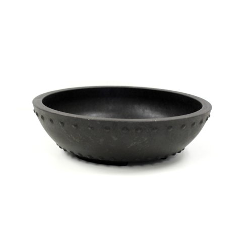 Round Mica Bonsai Training Pot - Superior To Plastic - Won't break from freezing or dropping like clay, earthenware or ceramic … (1, Exterior Dimensions: 8 1/8 x 2 1/4)
