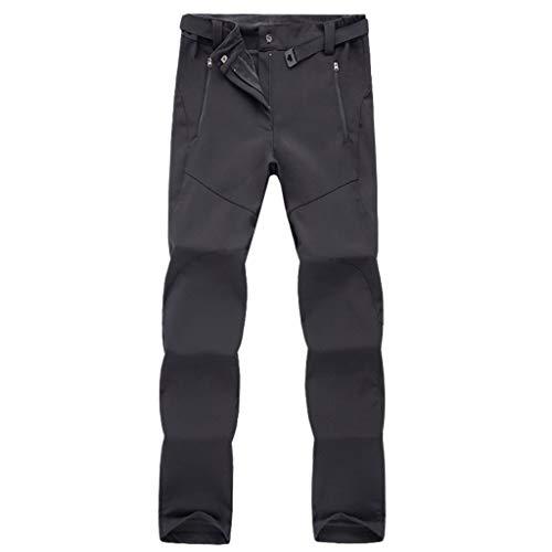 Aleola Men's Sport Outdoor Waterproof Windproof Quick-drying Trousers Long Pants (Black,XXXL)