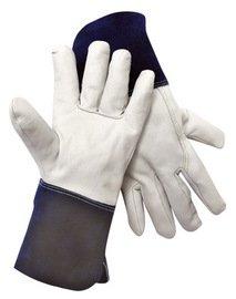 Radnor Glove Mig/Tig Premium Grain Goatskin 4 Inch Cuff Size Medium -1 Dozen Pairs