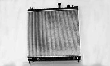 TYC 2691 Nissan Titan 1-Row Plastic Aluminum Replacement Radiator