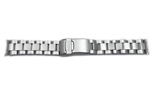 Seiko-Stainless-Steel-18mm-Double-Locking-Fold-Over-Clasp-Watch-Bracelet