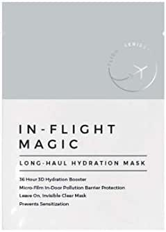 In-Flight Magic Long Haul Hydration Mask, 36 Hour 3D Hydration, Face Mask Treatment for Sensitive Skin, Face Mask for Travel