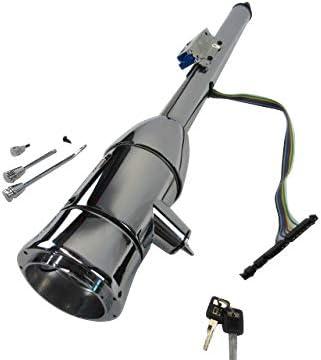 30 Manual Tilt Steering Column W//Key and Wheel Adapter Chrome