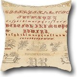 Oil Painting Pauline Rieschke - Sampler Cushion Covers ,best For Teens Boys,dining Room,pub,birthday,lounge,her 16 X 16 Inch / 40 By 40 Cm(2 Sides)