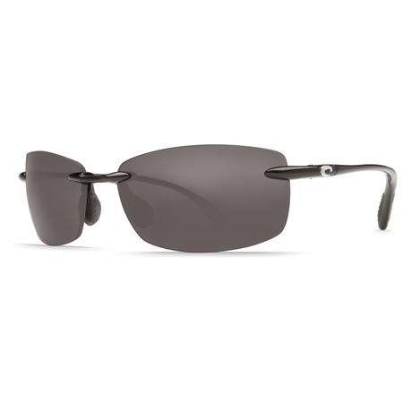 Costa Del Mar Ballast Polarized Sunglasses, Black, Gray 580 - Costa Mar Sun Del Glasses