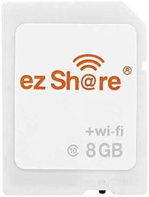 Ez Share 4th Generation 8GB C10 WiFi Wireless Memory Card: Amazon ...