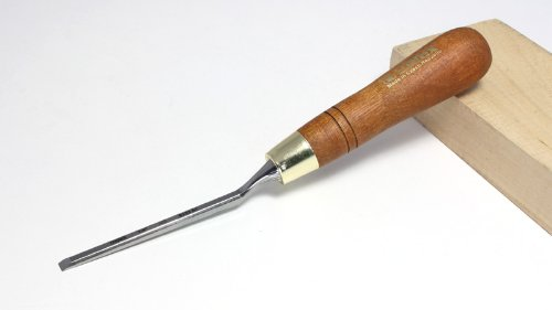 Paring Chisel With Cranked Neck - 6 mm (1/4'')