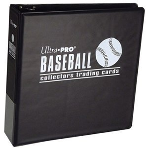 Ultra Pro Value Gift Pack: One Black Baseball D-Ring Binder (Album) with 25 9 Pocket (Ultra Pro Baseball Card)
