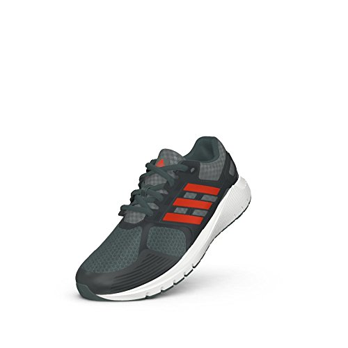 adidas Performance Boys' Duramo 8 k Running Shoe, Grey/Energy/Onix, 6 M US Big Kid