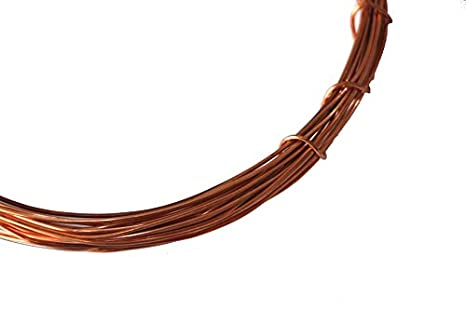 TRIOMAG 10 meter Bare Copper Wire For Science Projects (Simple ...