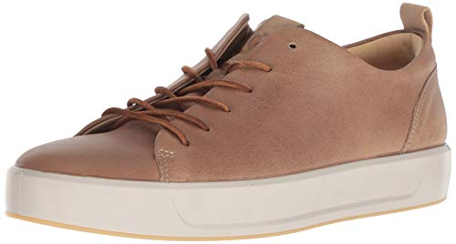 ECCO Men's Soft 8 Tie Fashion Sneaker, Dune/Powder Lx, 13-13.5 M US from ECCO