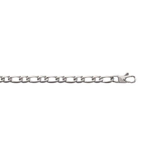 MARY JANE - Bracelet fantaisie Homme - Long:21cm / Larg:5mm - Acier