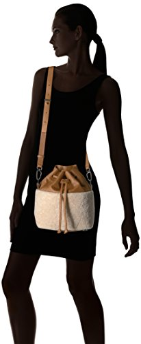 Lambskin Berlin and Cognac Shearling Women's Bag Liebeskind Missisippi Bucket 6vHqXR6wx