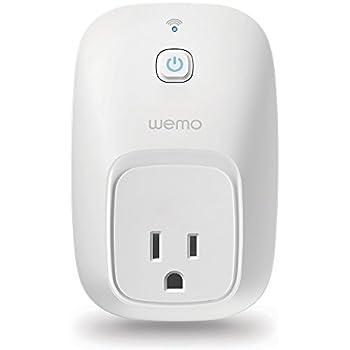 WeMo Switch Smart Plug, Wi-Fi, Works with Amazon Alexa