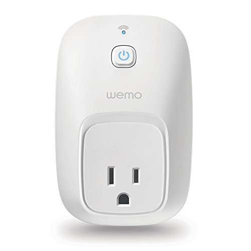 WeMo Switch Smart Plug, Wi-Fi, Works with Amazon Alexa (Re Mini Fan)