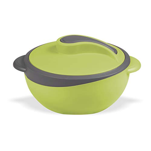 Crown Craft Hot Serve Plastic Casserole with Steel Inner 1500ml