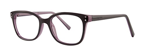 Advice Women's Eyeglasses - Modern Collection Frames - Black/Purple (Visual Eyes Collection)