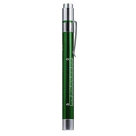 QinMM M/édico Primeros Auxilios L/ápiz LED Linterna Antorcha M/édico Enfermera EMT Emergencia Linterna con Clip Use 2 bater/ías AAA no Incluidas