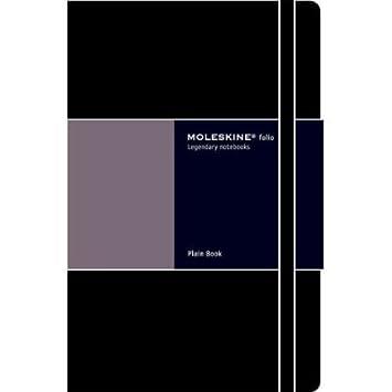 Amazon.com: Folio cuaderno Liso Moleskine grande libro ...
