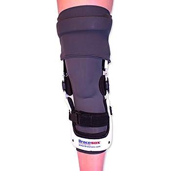 Bracesox Knee Brace Undersleeve - PowerDry - Medium