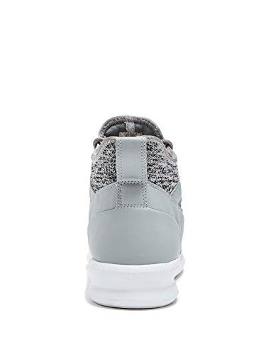 Indovinello Sneakers High-top Da Uomo Di Fabbrica In Tessuto Multiuso Grigio